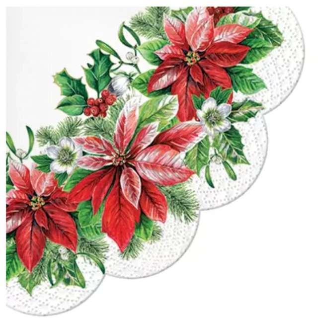 _xx_Serwetki Glory Poinsettia