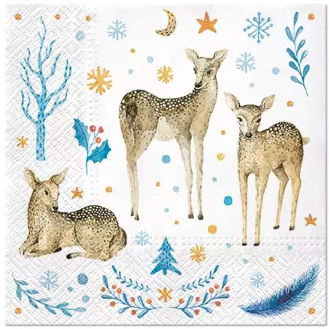 _xx_Serwetki Reindeer Family