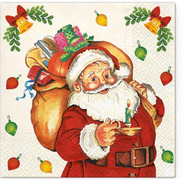 _xx_Serwetki Santa Claus with Gifts