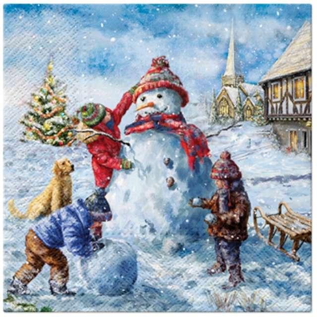 _xx_Serwetki Snowman Fun
