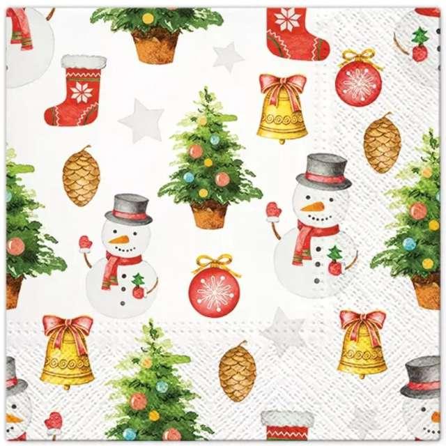 _xx_Serwetki Snowmen Pattern