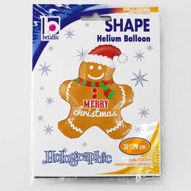 Balon foliowy Ciasteczkowy ludzik Betallic 31 SHP