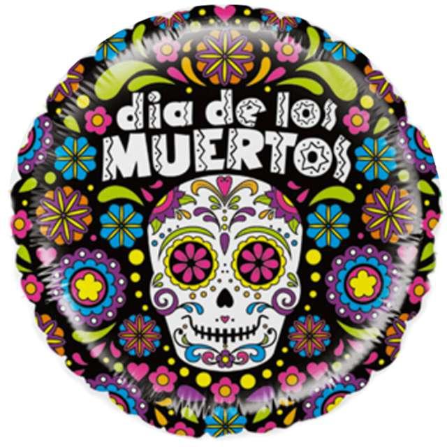 Balon foliowy Dia de los Muertos Betallic 21 RND