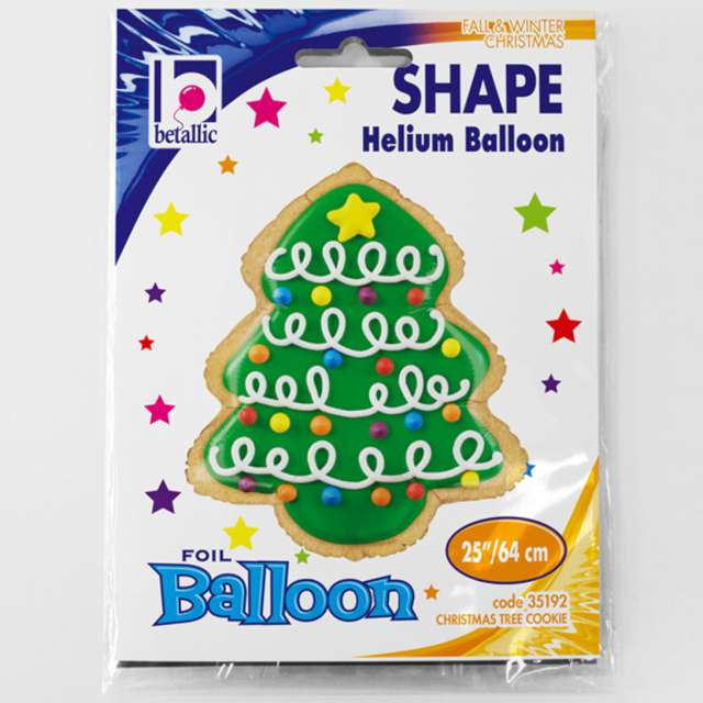 Balon foliowy Choinka lukrowana Grabo 25 SHP