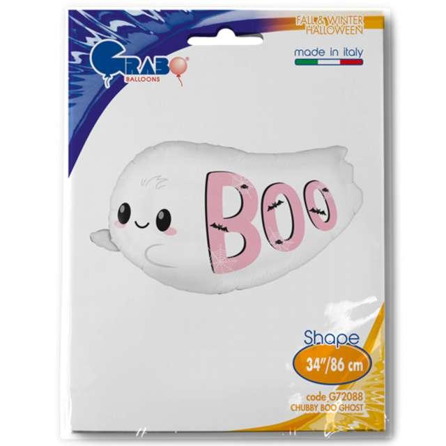Balon foliowy BOO - biały duch Grabo 34 SHP
