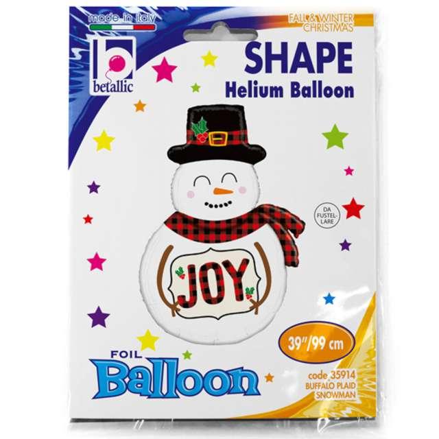 Balon foliowy Bałwanek Joy Grabo 39 SHP