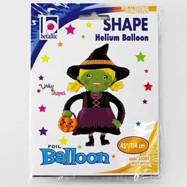Balon foliowy Czarownica w kapeluszu Betallic 45 SHP