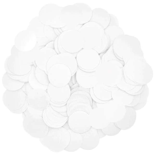 _xx_Konfetti papierowe 15 g - białe