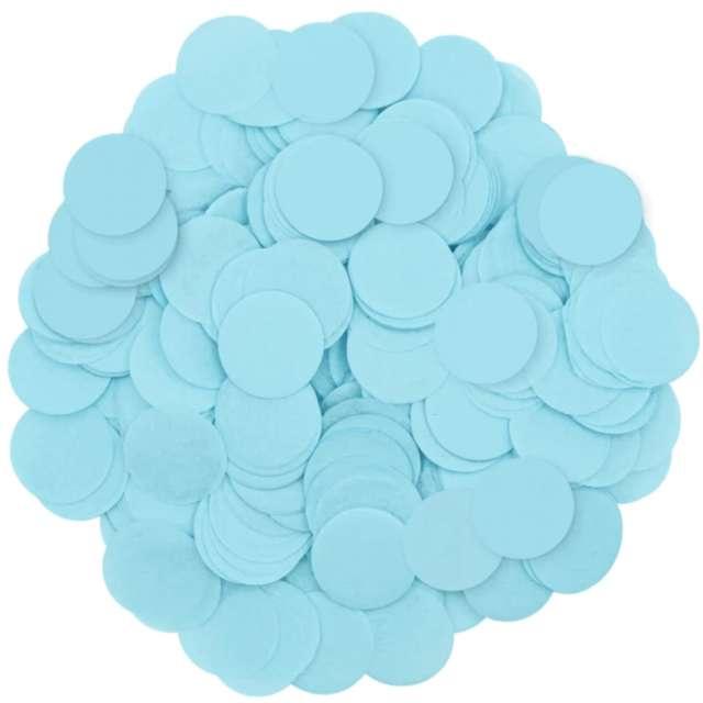 _xx_Konfetti papierowe 15 g - niebieskie