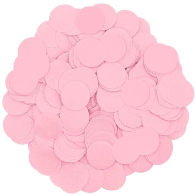 _xx_Konfetti papierowe 15 g - różowe