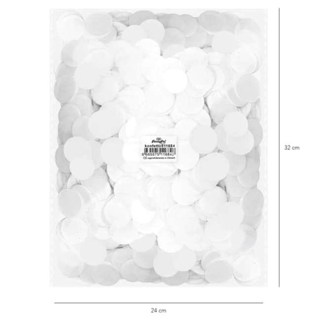 _xx_Konfetti papierowe 500 g - białe