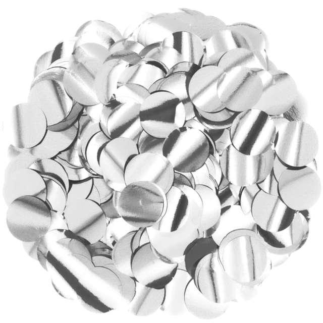 _xx_Konfetti foliowe 15 g - srebrne