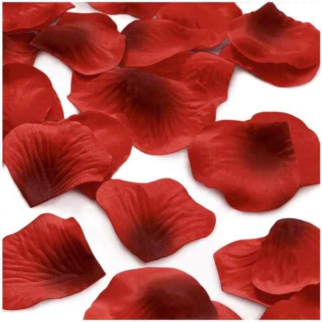 _xx_Konfetti płatki róż 500 szt. - czerwone
