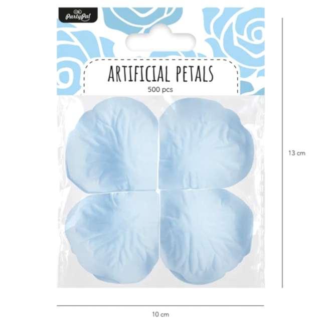Płatki róż Classic błękitne PartyPal 500 szt