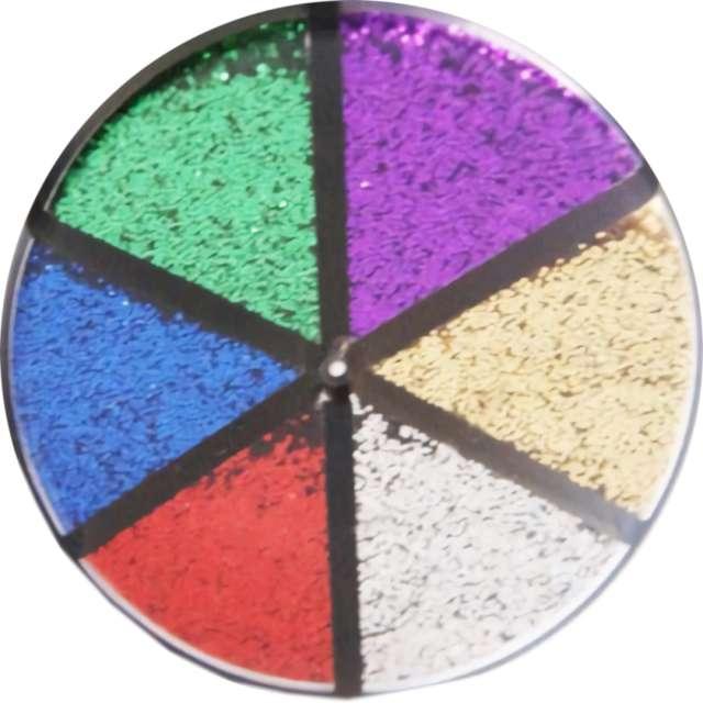 _xx_Brokat sypki 6 kolorów x 10 gram
