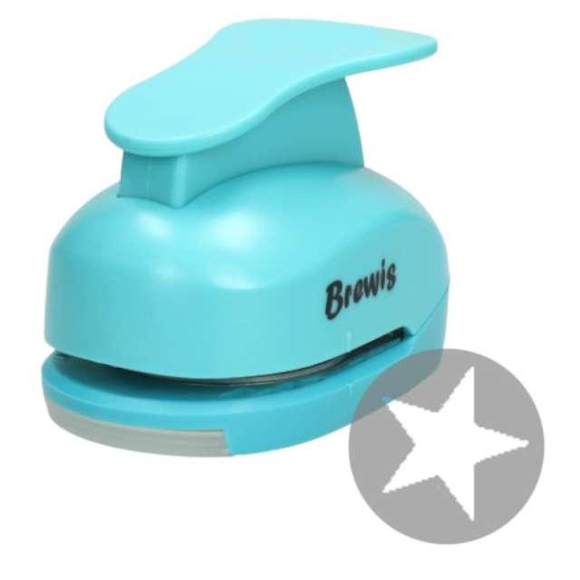 Dziurkacz kreatywny Świąteczna Gwiazdka błękitny Brewis 5 cm