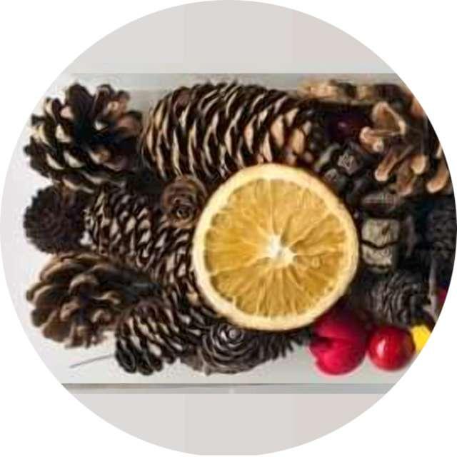 _xx_Susz dekoracyjny cytryna cynamon 30~40g