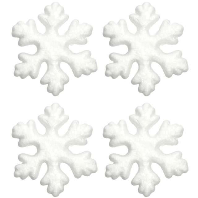_xx_Styropianowa śnieżynka 75 cm /4 szt