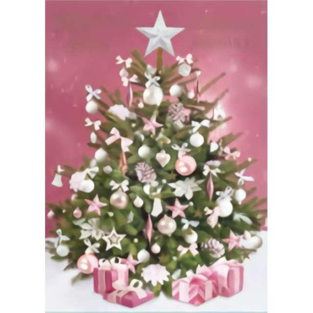 _xx_Laurka z Opłatkiem BN choinka różowa 41306