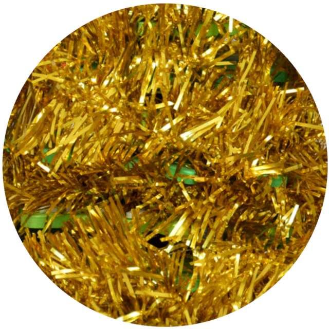 Łańcuch Choinkowy Classic Long złoty Arpex 5 cm 4 m