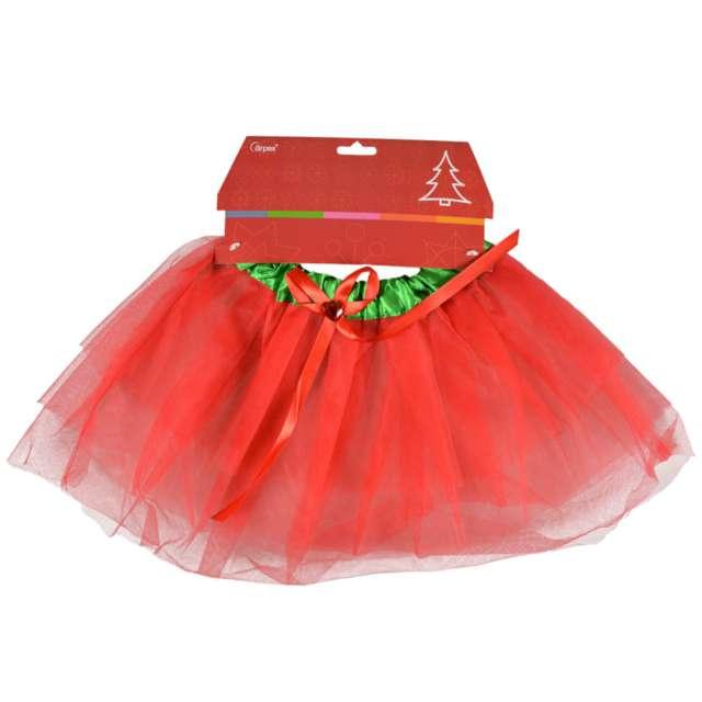 _xx_Świąteczna tutu czerwona