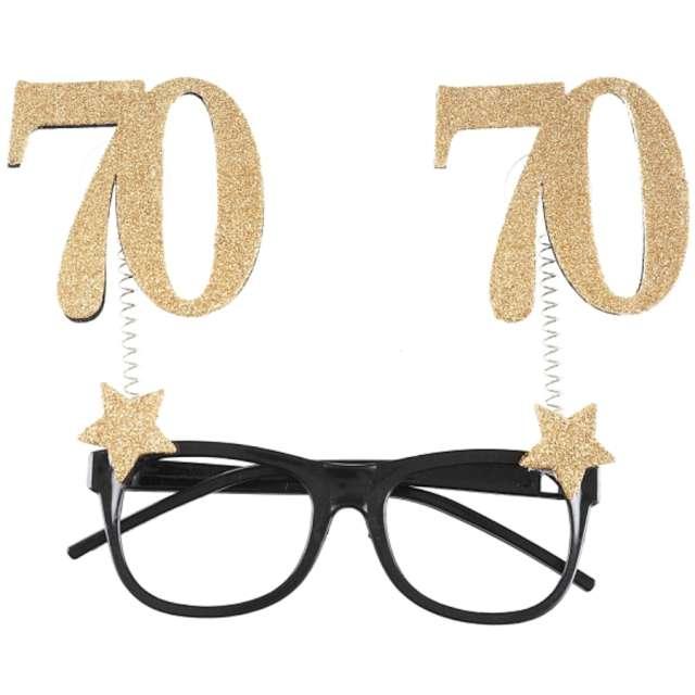 _xx_Gold glitter age glasses 70