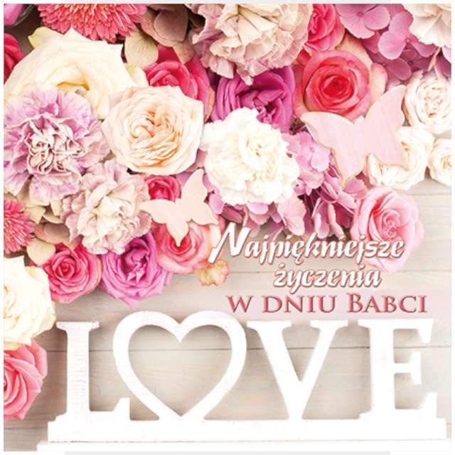 _xx_laurka b6 dzień babci LOVE róża 44817
