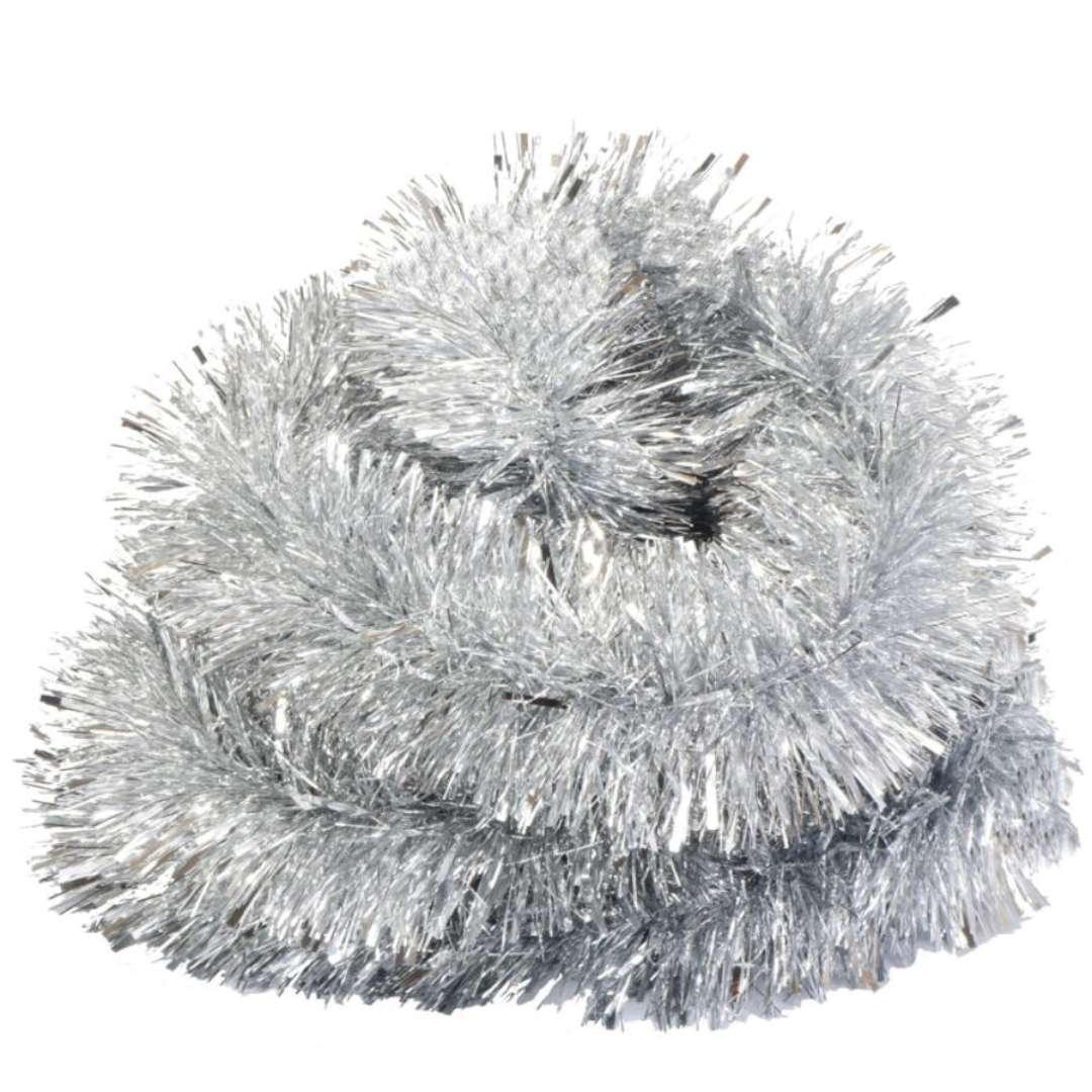 """Łańcuch Choinkowy """"Classic Big"""", srebrny, Arpex, 8 cm, 2 m"""
