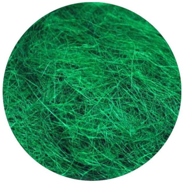 Ozdoba Sizal-sianko zielony ciemny ARPEX 10g