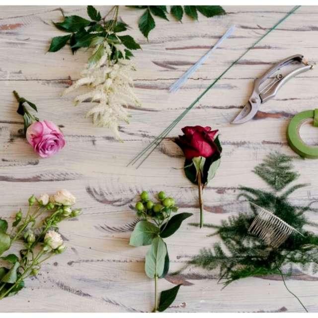 Drut florystyczny Do kwiatów 10mm zielony Florad 40 cm 1 opak.