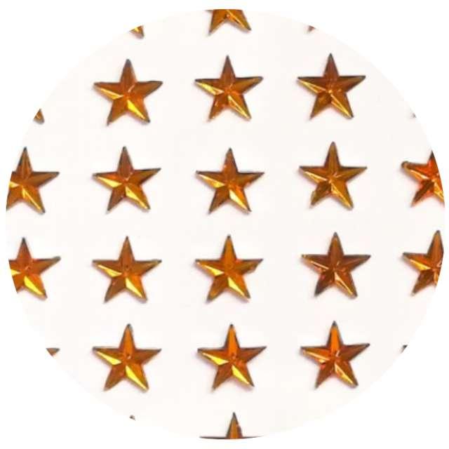 Naklejki Gwiazdki złote Aliga 9x11cm