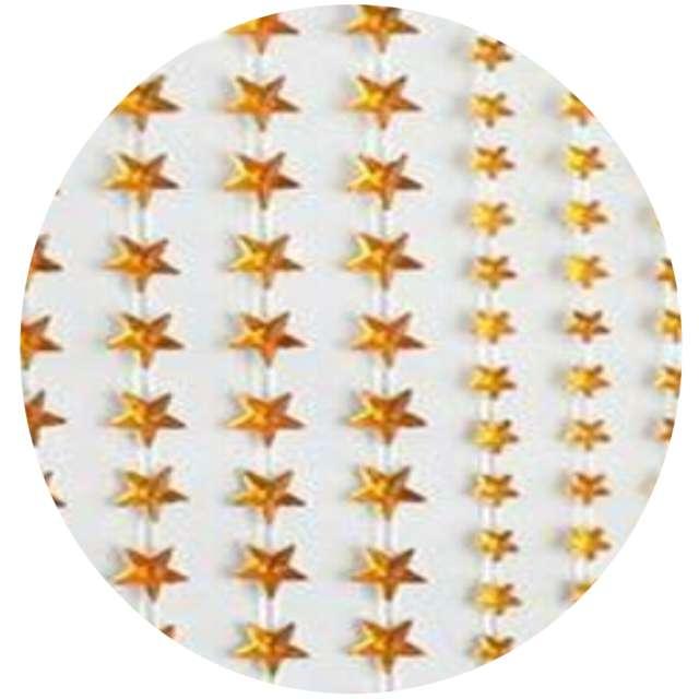 Naklejki Gwiazdki małe i duże złote Aliga 6x16cm