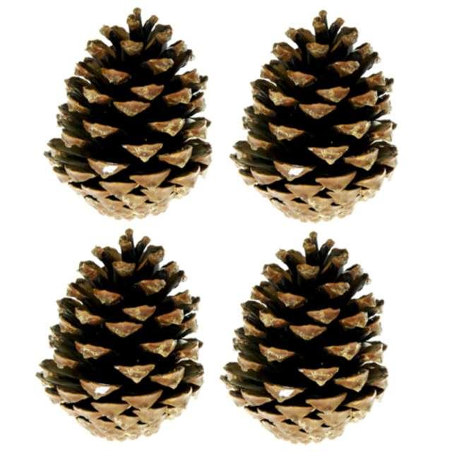 """Dekoracja """"Szyszki - pinus nigra"""", Aliga, 4 szt"""