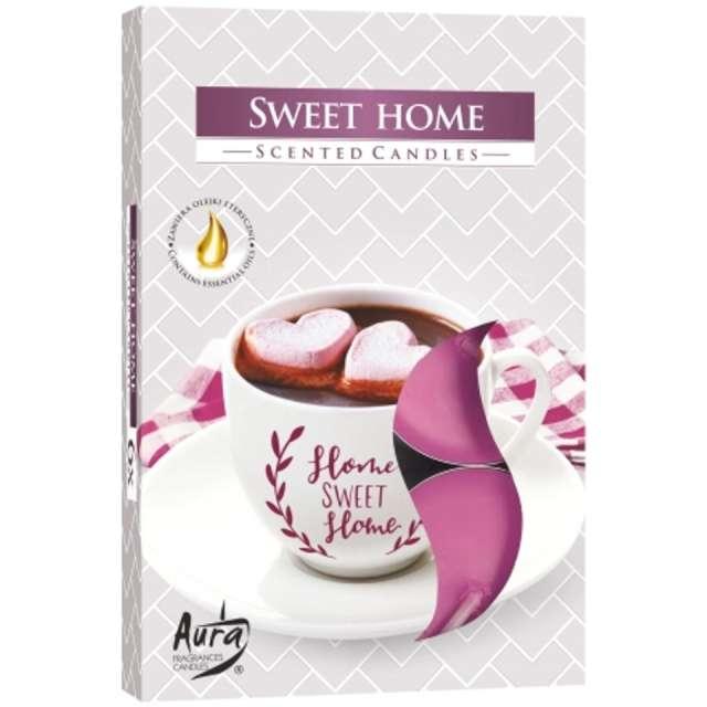 Podgrzewacz zapachowy Sweet Home Bispol 4h 6 szt