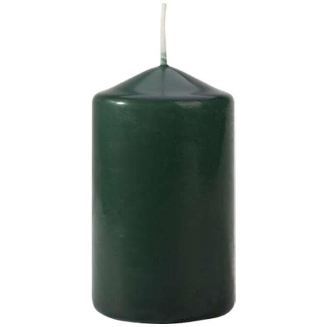 Świeca pieńkowa Classic zielona butelkowa Bispol 100/60 mm