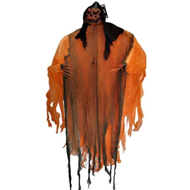 Dekoracja Szkielet Dynia pomarańczowa Party Tino 120cm