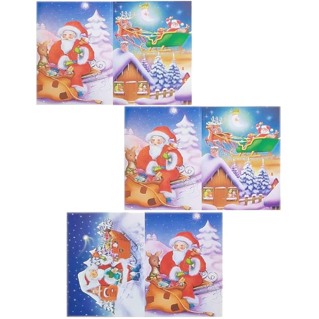 Kolorowanka Świąteczna - Gwiazdkowe Prezenty Maki 16 rysunków